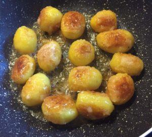 patate novelle caramellate