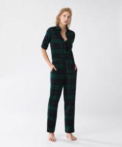 pigiama scozzese oysho shopping