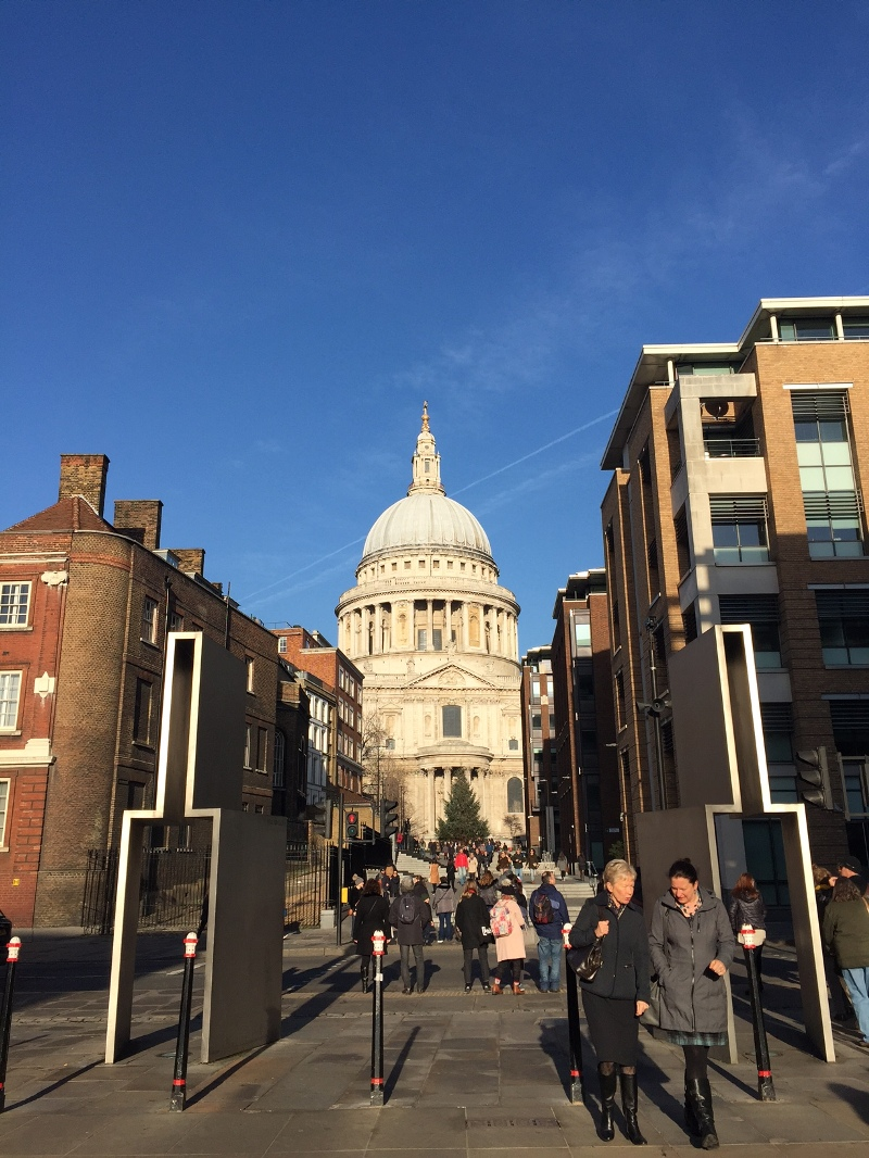 natale a londra london christmas saint paul's cathedral