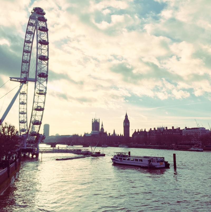 natale a londra london christmas big ben london eye skyline south bank