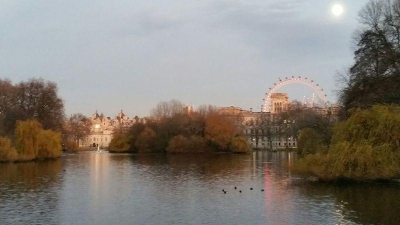 natale a londra london christmas london eye skyline