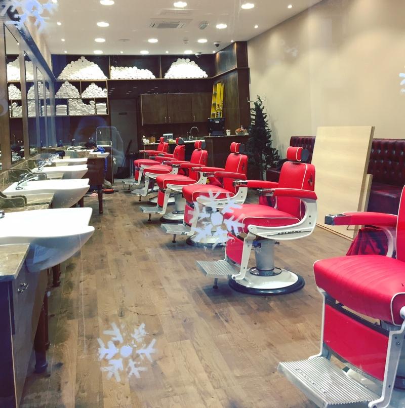 natale a londra london christmas barber shop