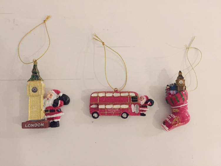souvenir di natale londra london christmas ornaments