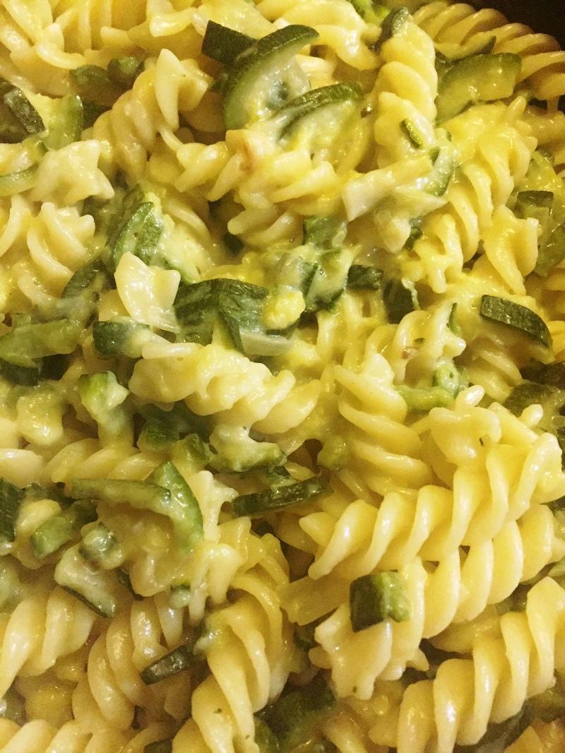 pasta zucchine e salmone light ricetta