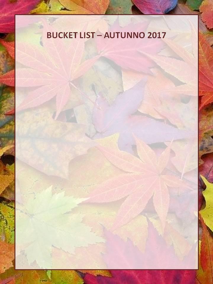 autunno lista bucket list fall