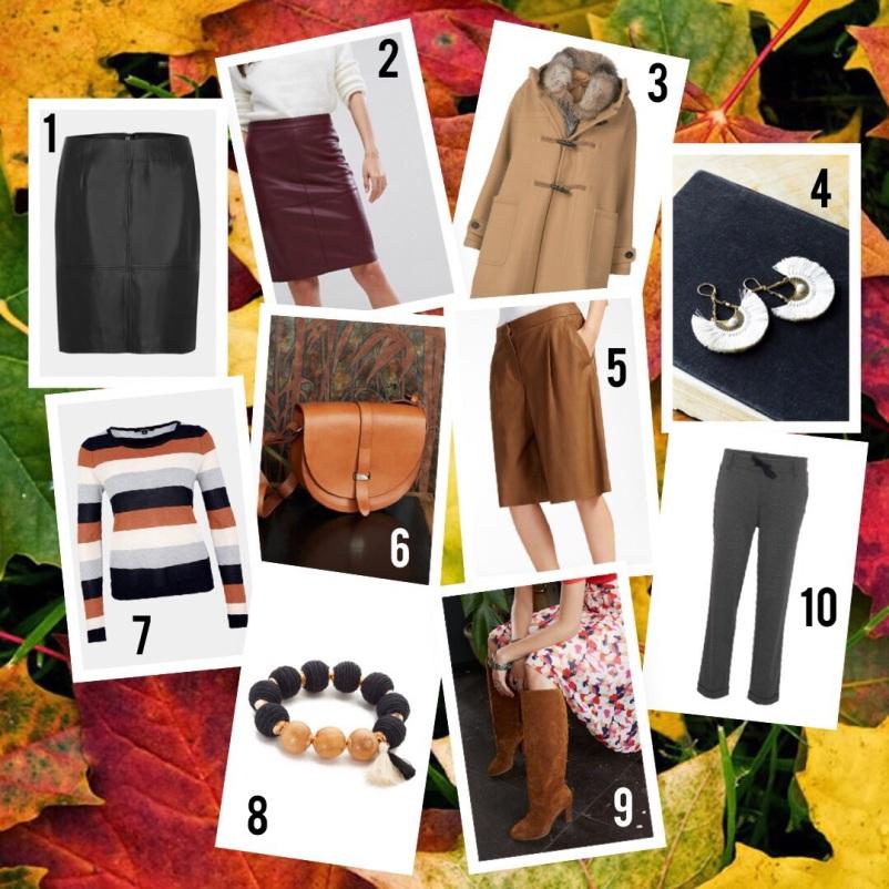 dieci pezzi per l'autunno