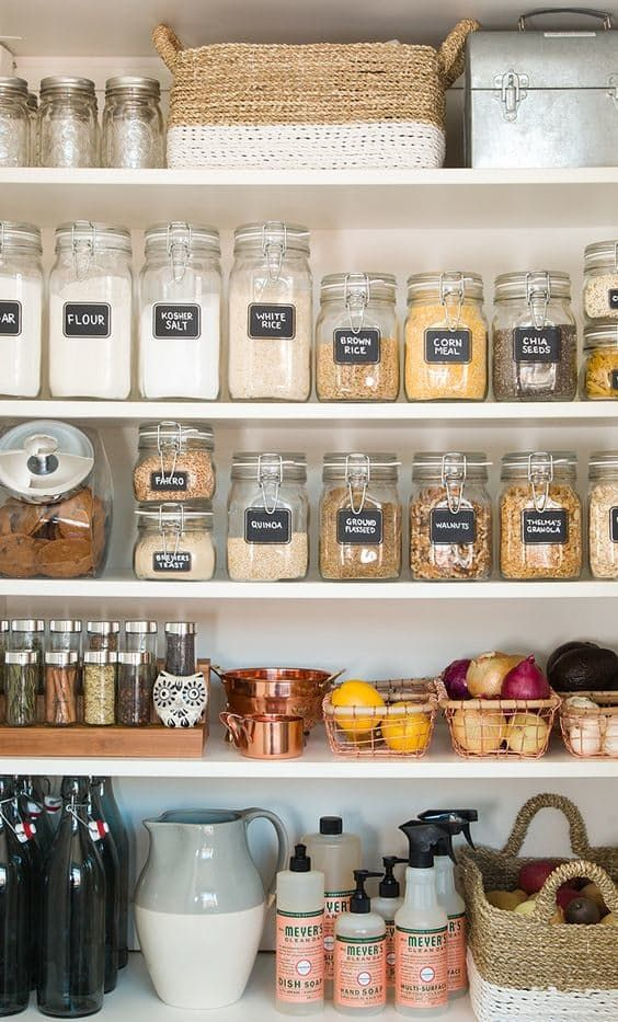 riorganizzare settembre cucina casa