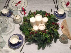 tavola natalizia natale decorazioni casa
